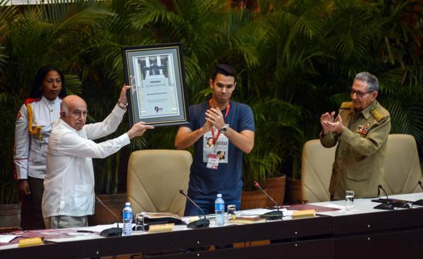 FEU, Congreso, Machado Ventura, Cuba