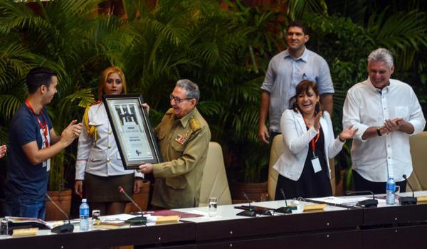 FEU, Congreso, Raúl Castro