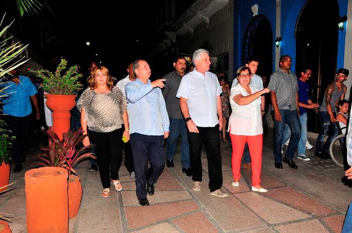 presidente, Cuba, Miguel Díaz Canel, Sancti Spíritus