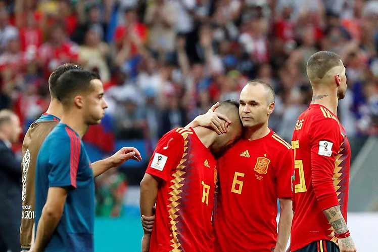 Fútbol, mundial, Rusia, España