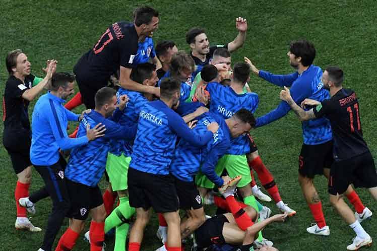 Fútbol, mundial, Rusia, Croacia