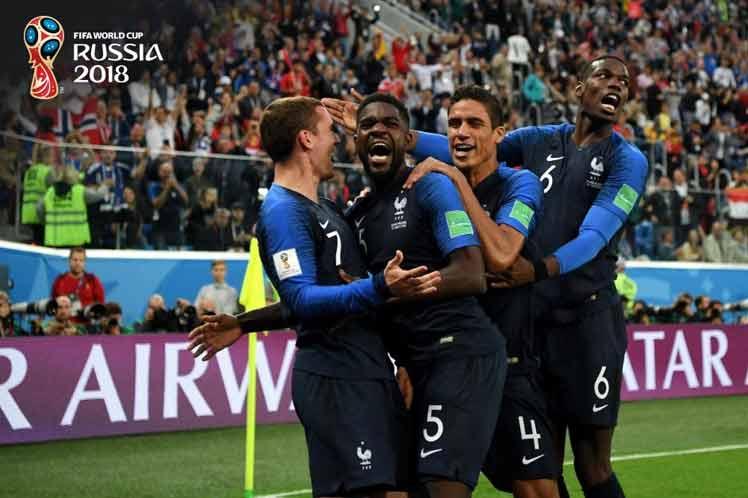Futbol, Mundial, Rusia, Francia
