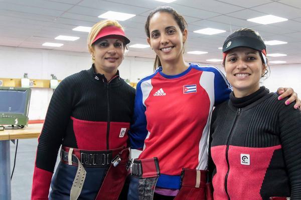 Barranquilla 2018, Centrocaribe, tiro deportivo, Sancti Spíritus