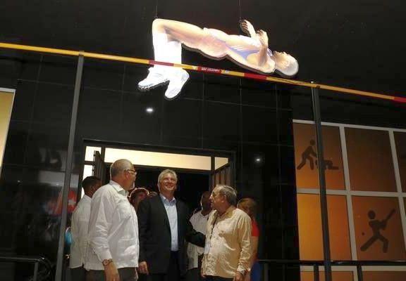cuba, deporte cubano, atletas cubanos, miguel diaz-canel