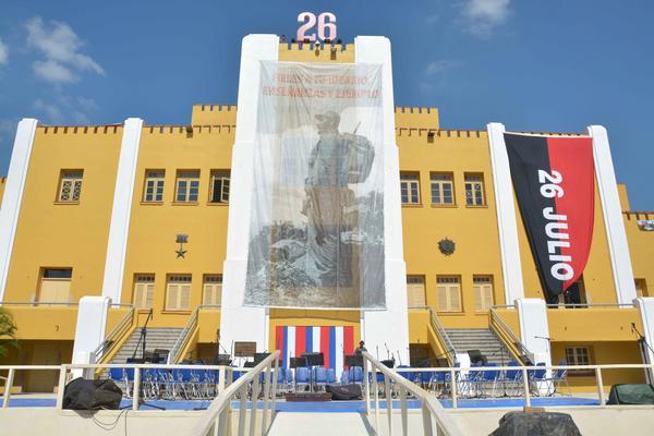 26 de Julio, Santiago de Cuba, Cuartel Moncada