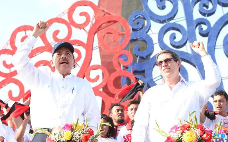 Cuba, Nicaragua, Daniel Ortega, Bruno Rodríguez