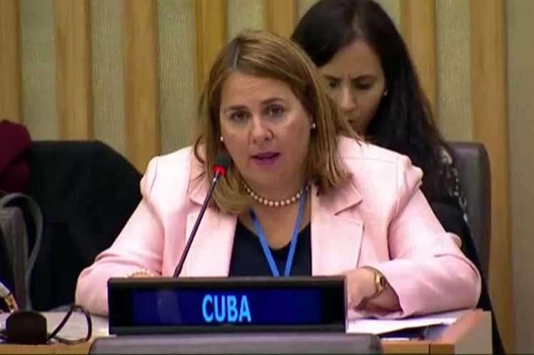 ONU, Cuba, Palestina