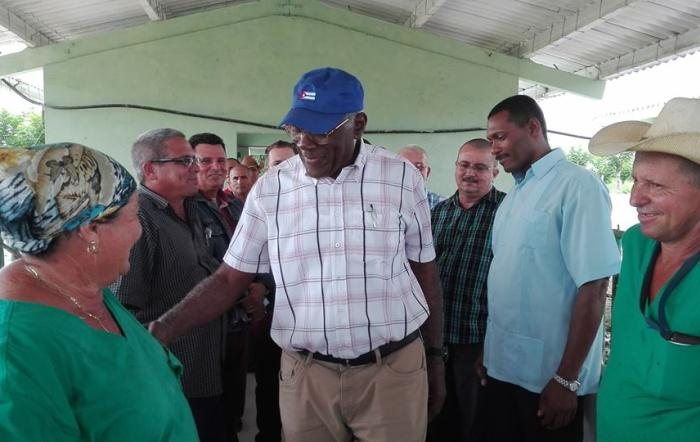 sancti spiritus, salvador valdes mesa, molino arrocero, empresa pecuaria managuaco, obras sociales