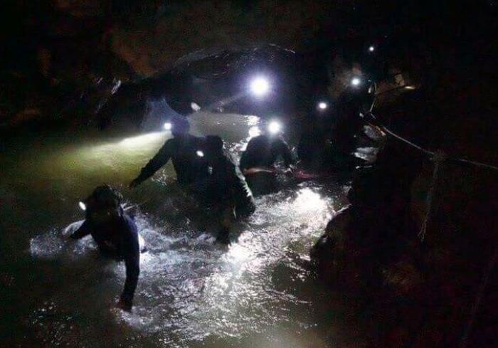 tailandia, niños, cueva, rescate
