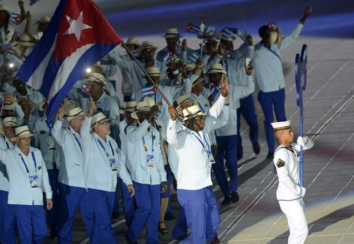 Primera jornada de los Centroamericanos — Cuba en Barranquilla