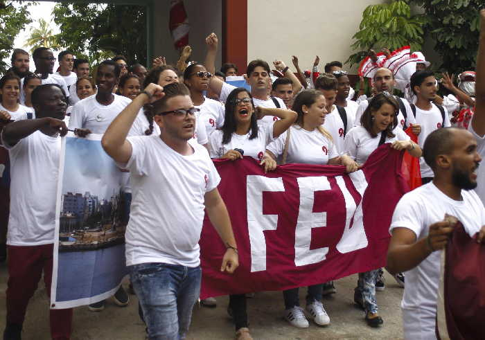 cuba, IX congreso de la feu, federacion estudiantil universitaria