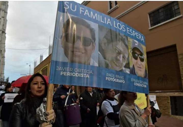 ecuador, periodistas asesinados