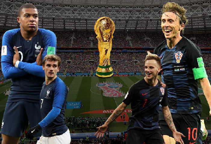 rusia 2018, mundial de futbol 2018, francia, croacia