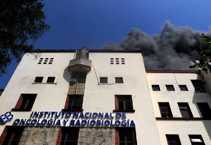 cuba, oncologico, incendio, instituto nacional de oncologia y radiobiologia