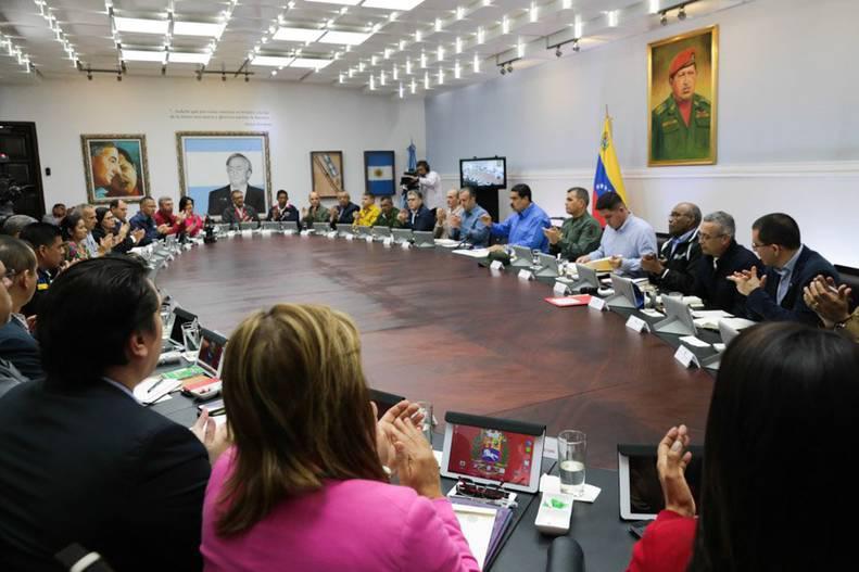 Venezuela, Nicolás Maduro, Consejo de Ministros