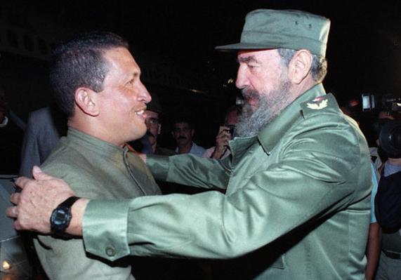 cuba, venezuela, hugo chavez frias, fidel castro