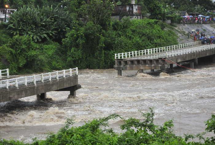 sancti spiritus, puente zaza, zaza del medio, rio zaza, intensas lluvias en sancti spiritus