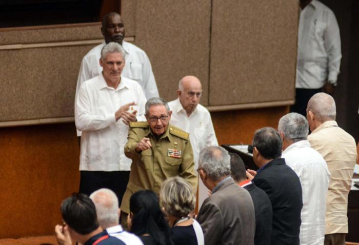 cuba, asamblea nacional del poder popular, miguel diaz-canel, raul castro, parlamento cubano, constitucion de la republica