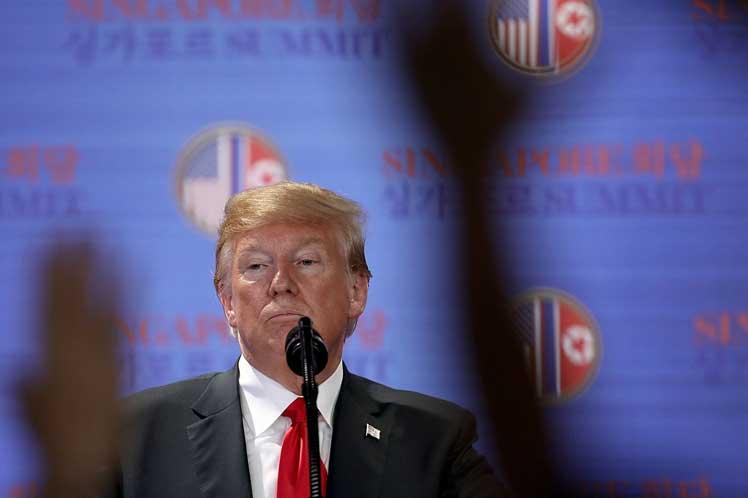 Estados Unidos, Corea Democrática, Donald Trump