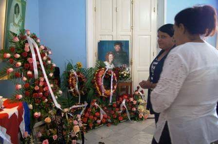Carilda Oliver, funerales, Díaz-Canel, Raúl Castro