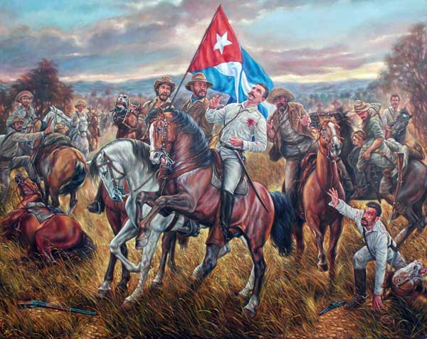 Serafín Sánchez, Oleo Francisco Rodríguez