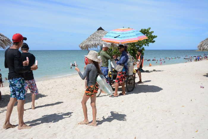 sancti spiritis, etapa estival, verano, playa ancon, playa la boca, trinidad
