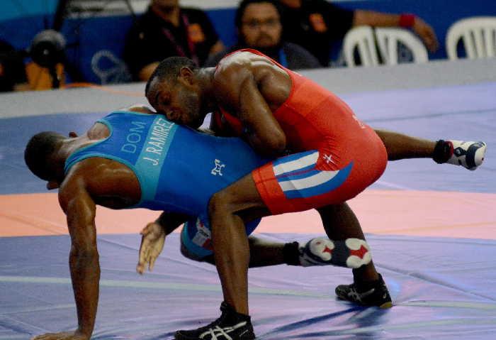 sancti spiritus, cuba, barranquilla 2018, reinieri andreu, juegos centroamericanos y del caribe, lucha libre