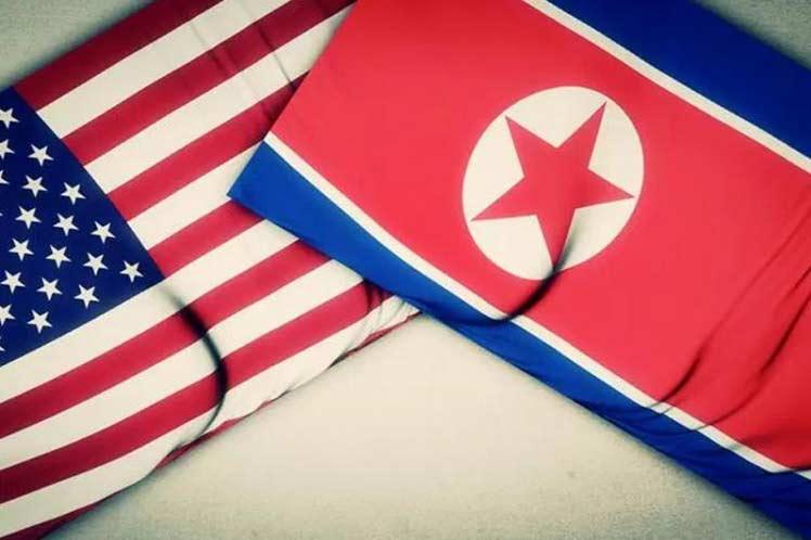 Corea Democrática, Estados Unidos