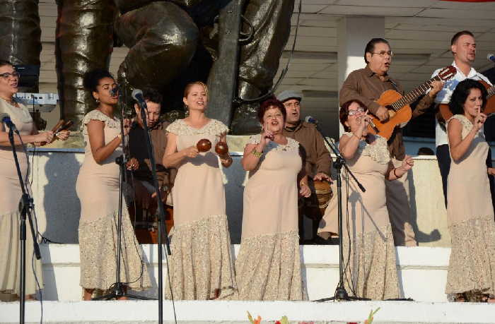 sancti spiritus, coro de clave, cultura espirituana, musica tradicional espirituana