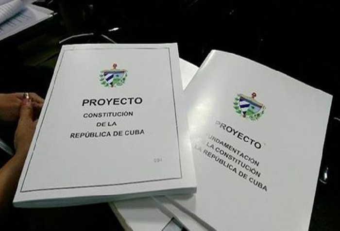 cuba, proyecto de constitucion