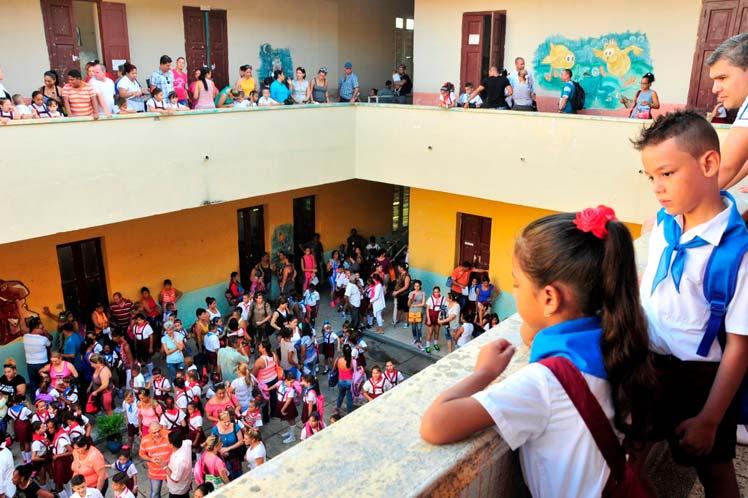 Educación, Sancti Spíritus, curso escolar