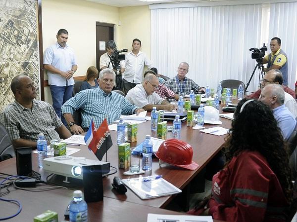 cuba, la habana, refineria ñico lopez, economia cubana, presidente de cuba, miguel dóaz-canel