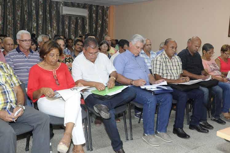 Díaz-Canel, reforma constitucional