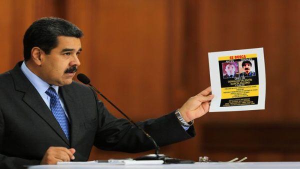 Perú recibió petición para ubicar a sospechosos de atentado contra Maduro
