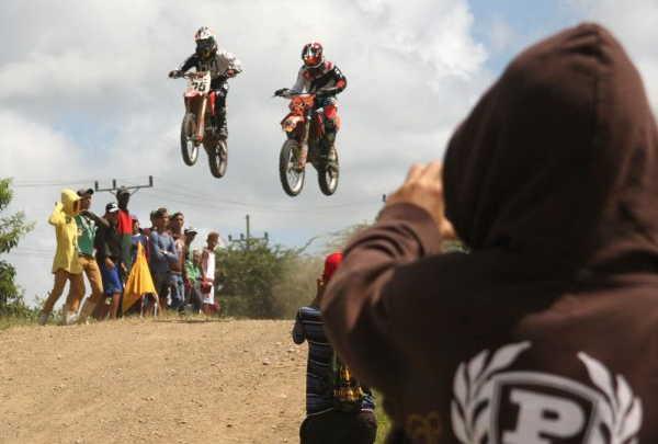 sancti spiritus, motocross