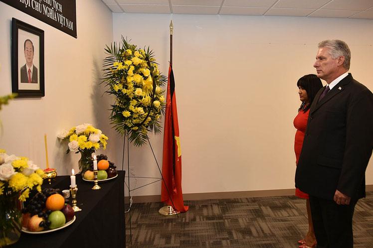 Díaz-Canel, Vietnam, ONU