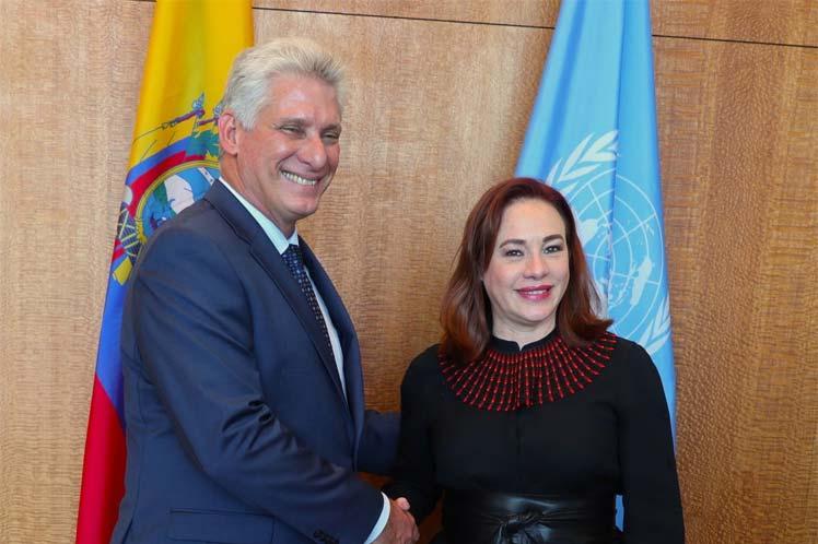 Cuba, ONU, Díaz-Canel