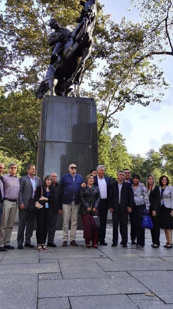 Nueva York, José Martí, Díaz-Canel, Cuba