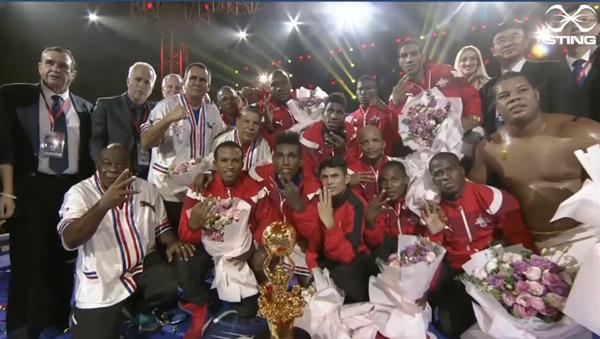Domadores, boxeo, Serie Mundial