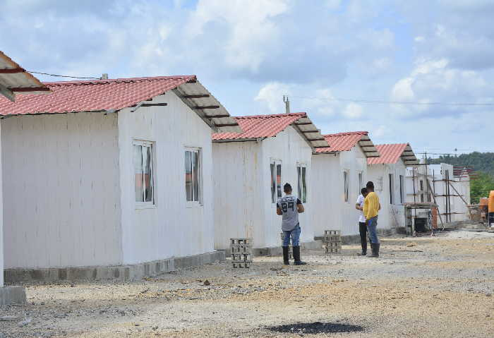 sancti spiritus, huracan irma, yaguajay, huracan recuperacion, construccion de viviendas