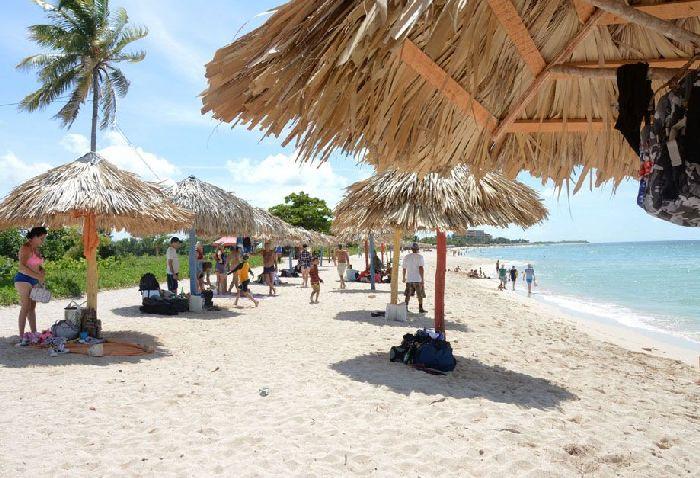 Verano, Trinidad, playa, Ancón