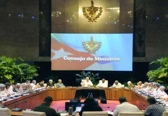 Díaz-Canel, Consejo de Ministros