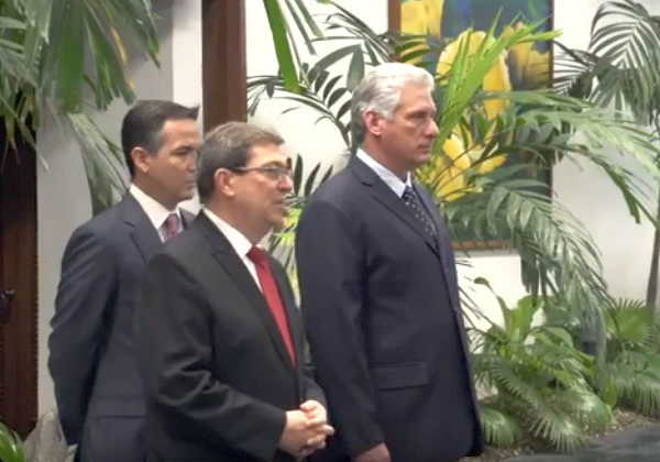 cuba, embajadores, miguel diaz-canel, presidente de cuba