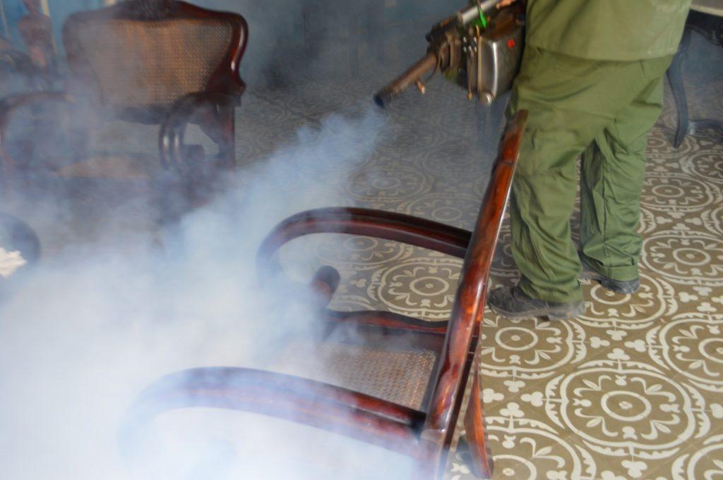 Higiene, salud, mosquito, fumigación