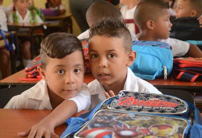 sancti spiritus, cirso escolar 2018-2019, educacion