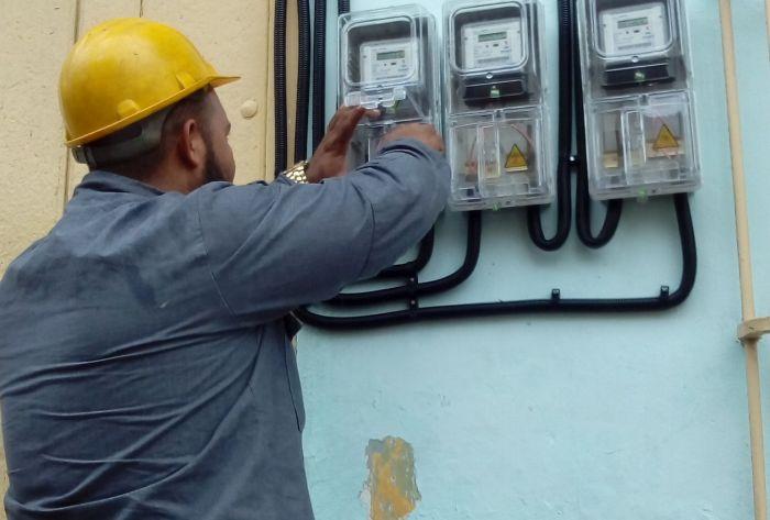 sancti spiritus, empresa electrica, consumo electrico, metrocontadores