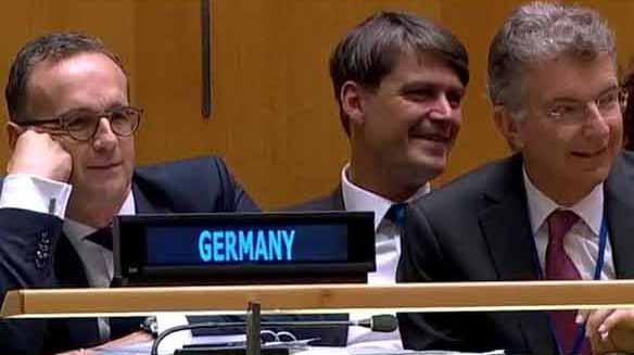 ONU, Alemania, Trump, risas