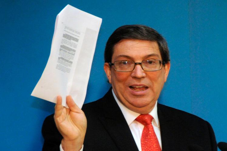 Cuba-EE.UU., Bruno Rodríguez, Minrex, bloqueo
