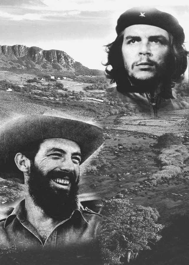 Ejercito rebelde, camilo Cienfuegos, Ernesto che Guevara, yaguajay, columna No 8 ciro redondo, columna No 2 antonio maceo, historia de cuba, frente norte de las villas, yaguajay