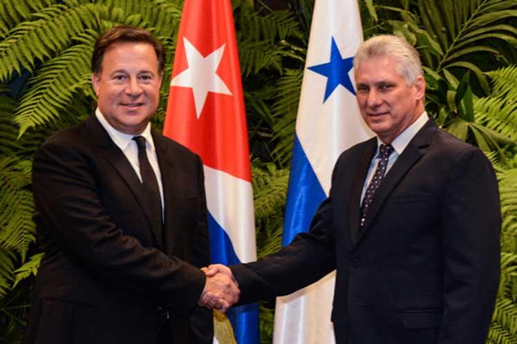 Díaz-Canel, Cuba, Panamá